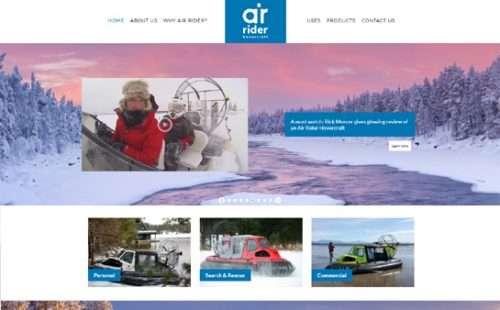 Air Rider Hovercraft