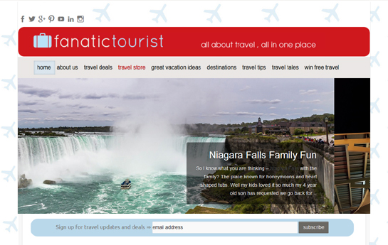 fanatic tourist