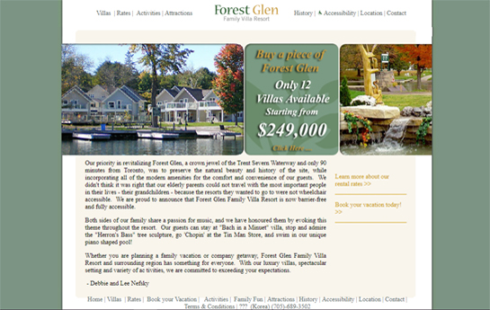forest glen resort