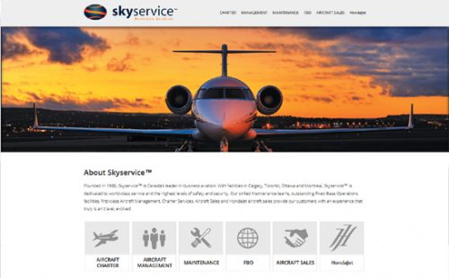 skyservice business aviation